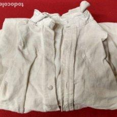 Antigüedades: ANTIGUA CAMISA DE LINO GRUESO . Lote 143053086