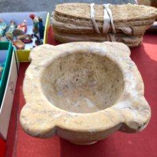 Antigüedades: ANTIGUO MORTERO DE SANTA TECLA. Lote 143059529
