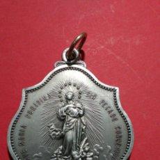 Antigüedades: MEDALLA DE LA CONGREGACION DE LAS HIJAS DE MARIA. 5,2 X 3,7 CM.. Lote 143071172