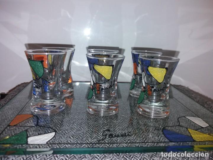 Antigüedades: Juego vasos Gaudí - Foto 3 - 143073850