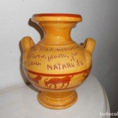 Antigüedades: JARRÓN VIII FIRA -MERCAT DEL ARBRE -PLANTA-FLOR I JARDÍ DE MATARÓ 1986. Lote 143074606