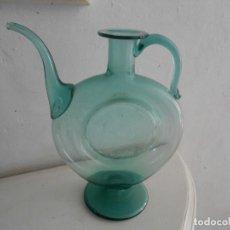 Antigüedades: ACEITERA VIDRIO SOPLADO -VIDRIOS GORDIOLA -MALLORCA. Lote 143079438