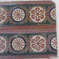 Antigüedades: PAREJA AULEJOS DE TRIANA. Lote 143089142