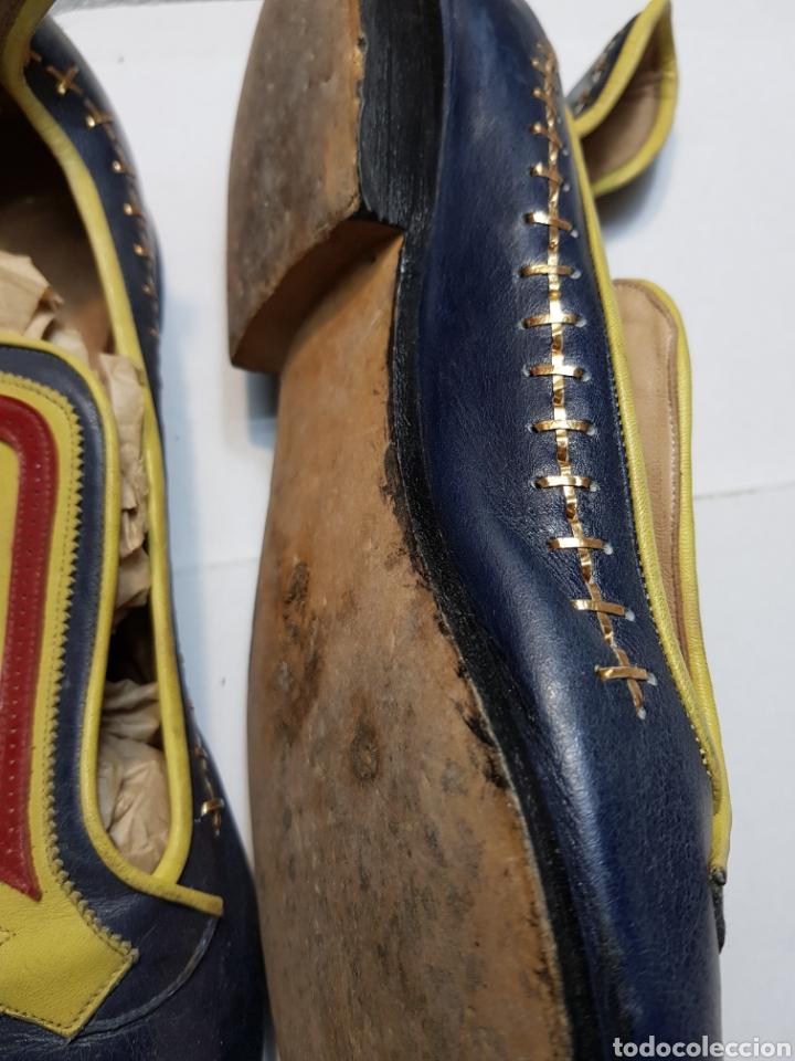 Antigüedades: Zapatos antiguos de fiestas Moros - Foto 4 - 143095208