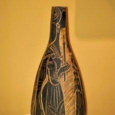 Antiques: JARRON CERÁMICA DE PEDRO MERCEDES. CUENCA. Lote 143096030