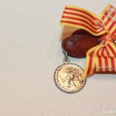 Antigüedades: MEDALLA *FAVA* (HABA) DE LA FIESTA DE SANT MEDIR (MEDÍN). BARCELONA. INF.. Lote 143096446