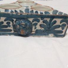 Antigüedades: ESPECIERO DE TALAVERA DE LA REINA, SERIE AZUL. SIGLO XVIII. Lote 141146126