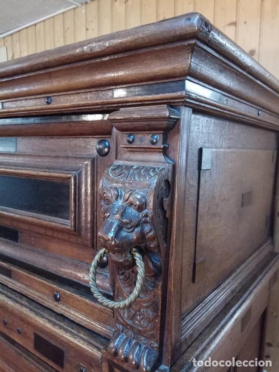 Antigüedades: Aparador flamenco del siglo XVII armoire flamande du XVIIS. - Foto 3 - 143129590