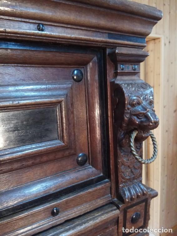 Antigüedades: Aparador flamenco del siglo XVII armoire flamande du XVIIS. - Foto 6 - 143129590