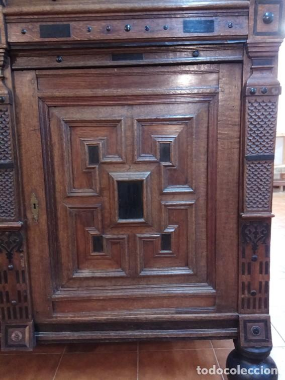 Antigüedades: Aparador flamenco del siglo XVII armoire flamande du XVIIS. - Foto 7 - 143129590