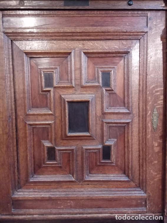 Antigüedades: Aparador flamenco del siglo XVII armoire flamande du XVIIS. - Foto 8 - 143129590