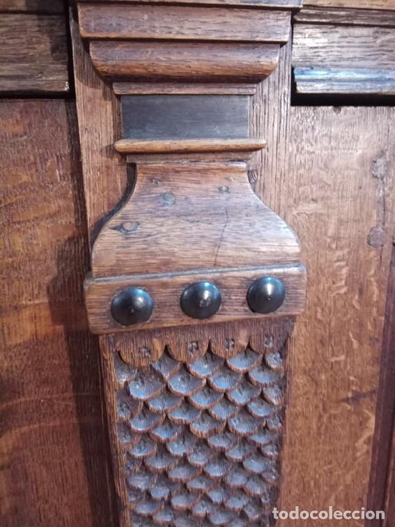 Antigüedades: Aparador flamenco del siglo XVII armoire flamande du XVIIS. - Foto 11 - 143129590