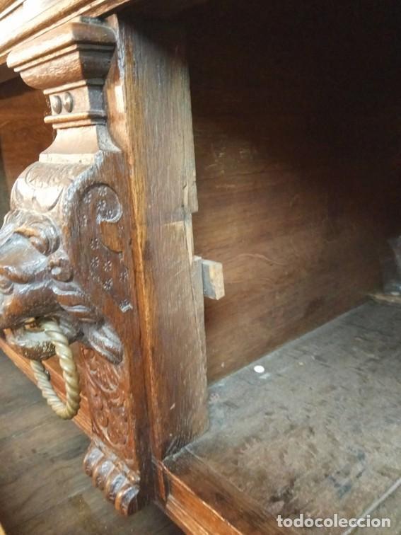 Antigüedades: Aparador flamenco del siglo XVII armoire flamande du XVIIS. - Foto 14 - 143129590