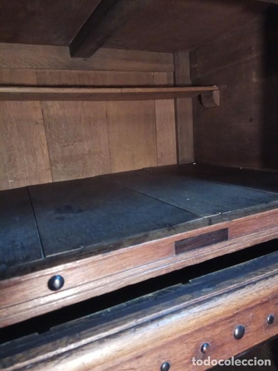 Antigüedades: Aparador flamenco del siglo XVII armoire flamande du XVIIS. - Foto 16 - 143129590
