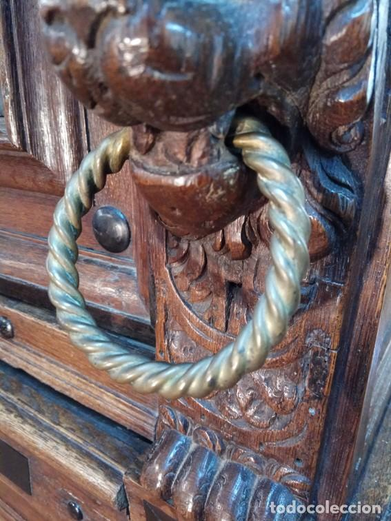 Antigüedades: Aparador flamenco del siglo XVII armoire flamande du XVIIS. - Foto 19 - 143129590