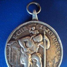 Antigüedades: (ANT-181212)MEDALLA DE PLATA DILECTO CARMELO. Lote 148145882