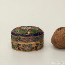 Antigüedades: CAJITA DE CLOISONNE. Lote 143141194