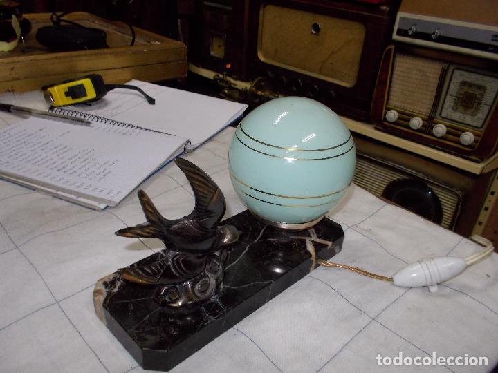 Antigüedades: lampara - Foto 6 - 143166446