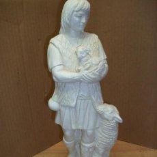 Antigüedades: ANTIGUA FIGURA DE PASTOR. Lote 143173330