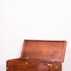 Antigüedades: ARCÓN DE BARCO DE ALCANFOR S.XIX. Lote 143175002