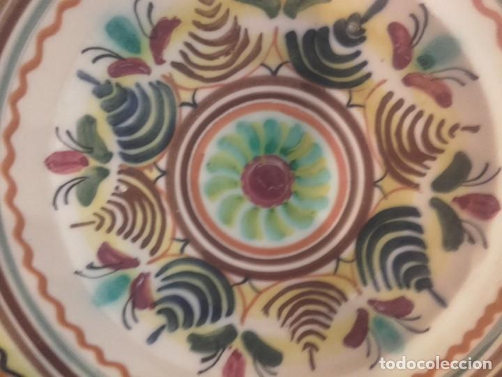 Antigüedades: PLATO HONDO DE P. DEL ARZOBISPO-MEDIANO - Foto 2 - 143192242