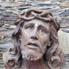 Antigüedades: ESCULTURA RELIGIOSA SANTO CRISTO DE LIMPIAS S XIX. Lote 143192266