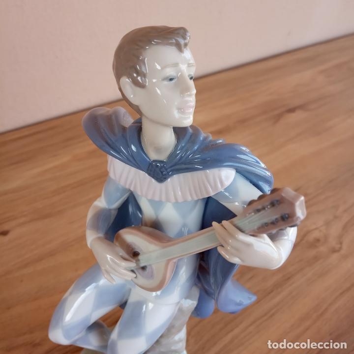 Antigüedades: Serenata a Colombina. Lladró. 1996-98. Única en TC - Foto 4 - 143212882
