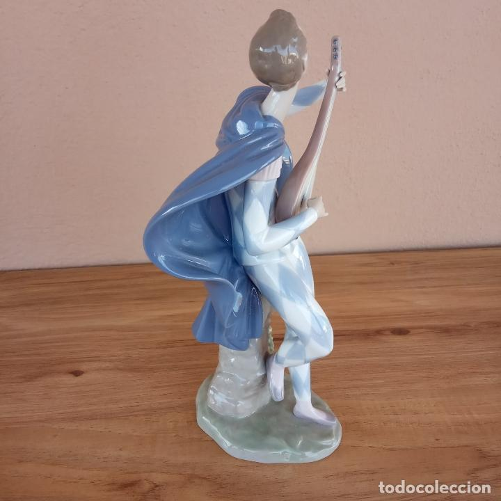 Antigüedades: Serenata a Colombina. Lladró. 1996-98. Única en TC - Foto 7 - 143212882