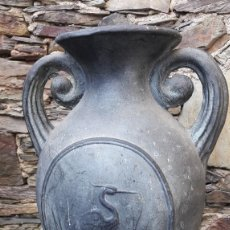 Antigüedades: JARRÓN CERÁMICA CATALANA. Lote 143214994