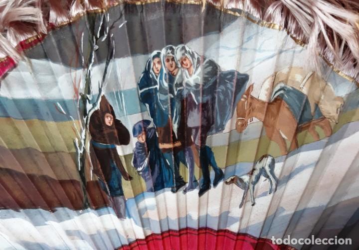 Antigüedades: Abanico de ópera de principios de siglo XX con estuche original - Foto 3 - 143222418