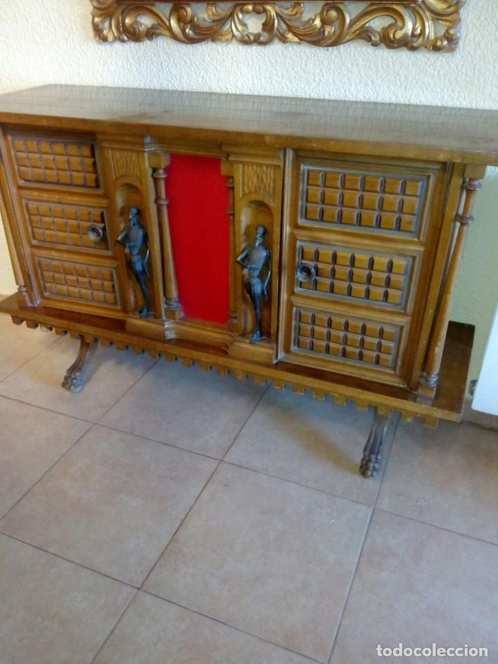 MUEBLE DE RECIBIDOR (Antigüedades - Muebles Antiguos - Auxiliares Antiguos)