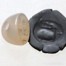 Antigüedades: SELLO INTACTO TERRITORIOS DE PIEDRA GRECIA ANTIGUA 100 A.C.. Lote 143230310