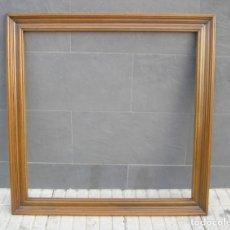 Antigüedades - Marco de madera de grande.103 x 103 cm. - 143311650