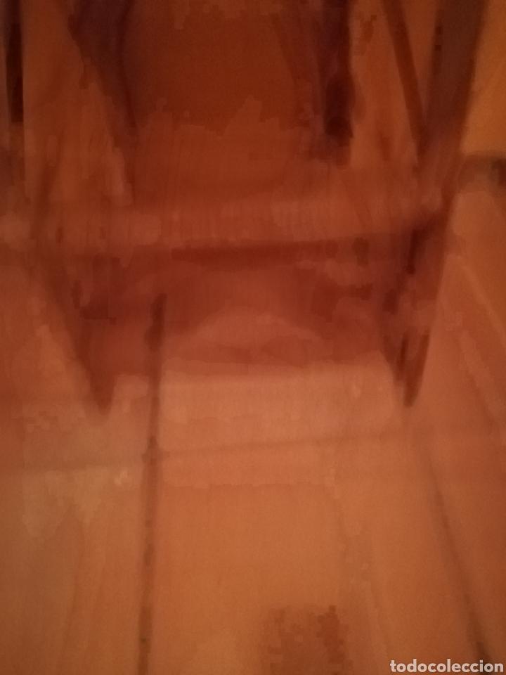 Antigüedades: Trona de mimbre antigua. - Foto 4 - 143324986