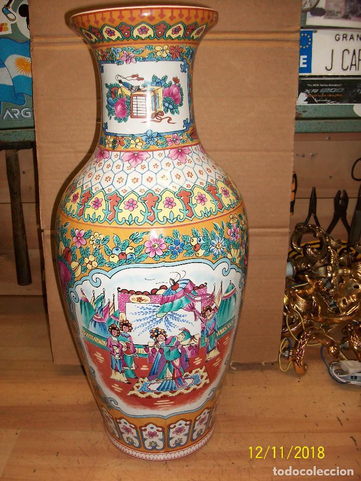 Antigüedades: ANTIGUO JARRON DE PORCELANA CHINA - Foto 2 - 143339126