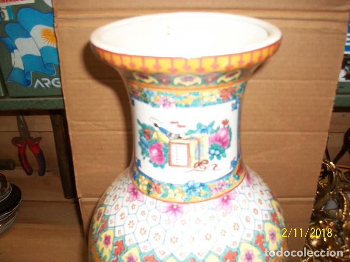 Antigüedades: ANTIGUO JARRON DE PORCELANA CHINA - Foto 3 - 143339126