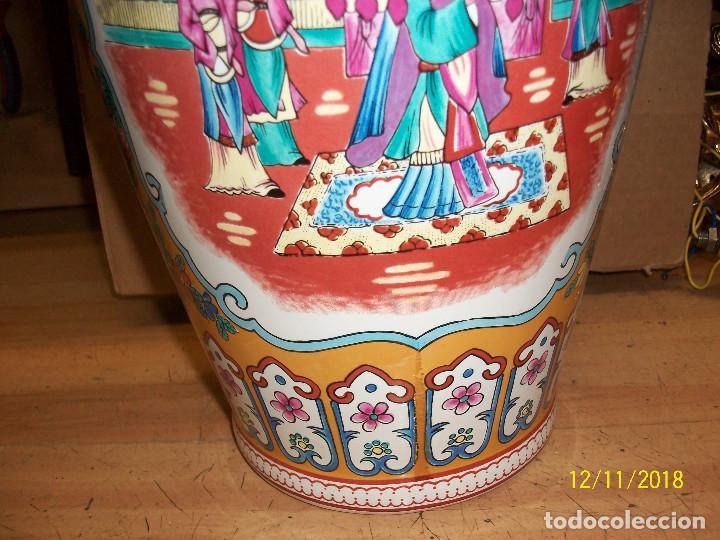Antigüedades: ANTIGUO JARRON DE PORCELANA CHINA - Foto 4 - 143339126
