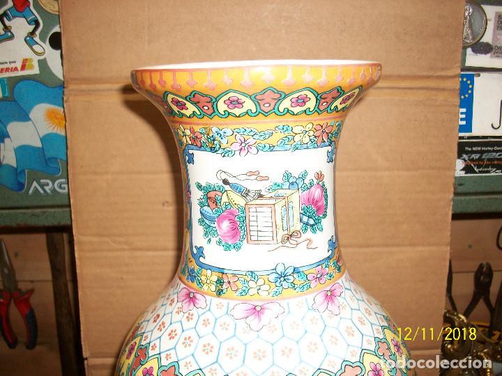 Antigüedades: ANTIGUO JARRON DE PORCELANA CHINA - Foto 5 - 143339126