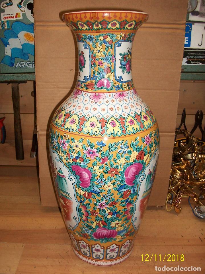 Antigüedades: ANTIGUO JARRON DE PORCELANA CHINA - Foto 6 - 143339126