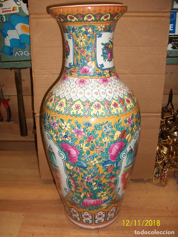Antigüedades: ANTIGUO JARRON DE PORCELANA CHINA - Foto 7 - 143339126