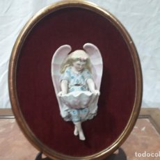 Antigüedades: BENDITERA DE BISCUIT . Lote 143343886