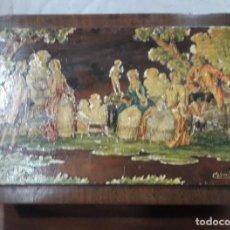Antigüedades: CAJA MADERA. Lote 143345914