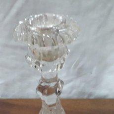 Antigüedades: CANDELABRO CRISTAL... Lote 143346606