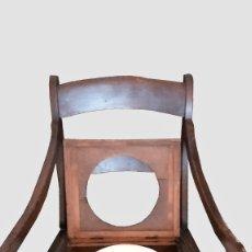 Antigüedades: INODORO TIPO TRONO. Lote 21590717