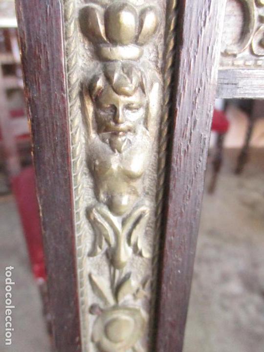 Antigüedades: Antiguo Comedor, Estilo Renacimiento - Madera de Roble - Decoraciones en Bronce - Circa 1900 - Foto 36 - 143378974