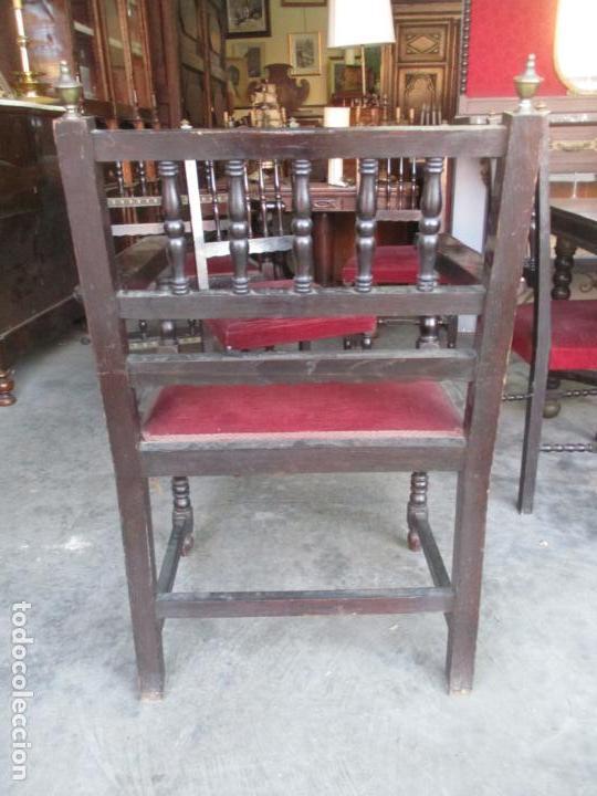 Antigüedades: Antiguo Comedor, Estilo Renacimiento - Madera de Roble - Decoraciones en Bronce - Circa 1900 - Foto 40 - 143378974