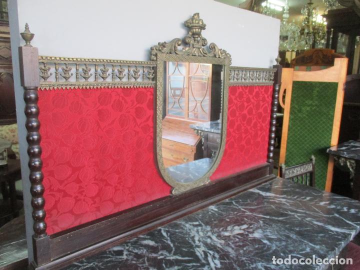 Antigüedades: Antiguo Comedor, Estilo Renacimiento - Madera de Roble - Decoraciones en Bronce - Circa 1900 - Foto 55 - 143378974