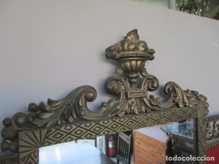 Antigüedades: Antiguo Comedor, Estilo Renacimiento - Madera de Roble - Decoraciones en Bronce - Circa 1900 - Foto 58 - 143378974