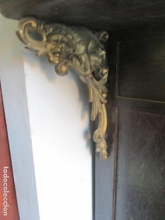 Antigüedades: Antiguo Comedor, Estilo Renacimiento - Madera de Roble - Decoraciones en Bronce - Circa 1900 - Foto 62 - 143378974
