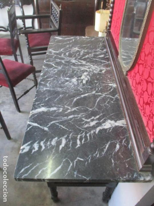 Antigüedades: Antiguo Comedor, Estilo Renacimiento - Madera de Roble - Decoraciones en Bronce - Circa 1900 - Foto 66 - 143378974